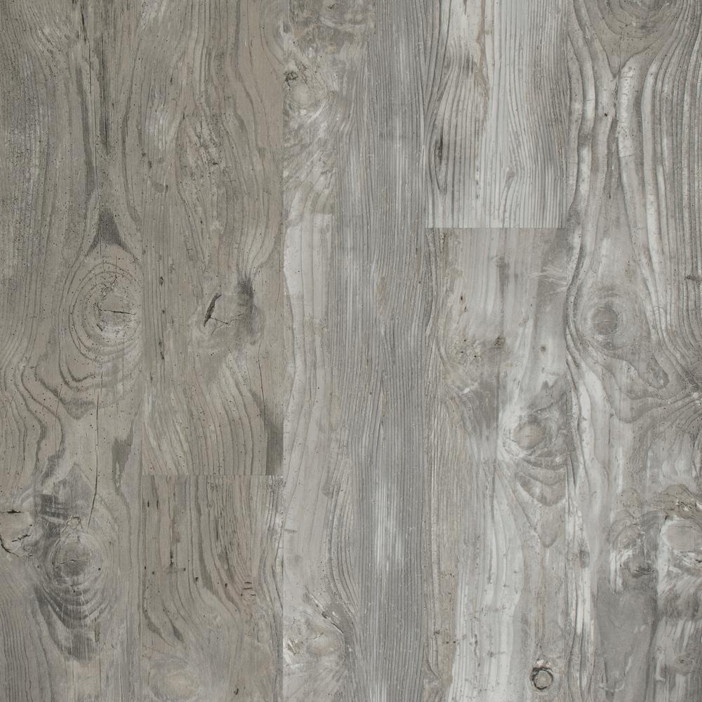 Lifeproof LifeProof Henlopen Grey Oak 7.5 in. x 48 in. Luxury Rigid Vinyl Plank Flooring 17.55 sq. ft. per Carton