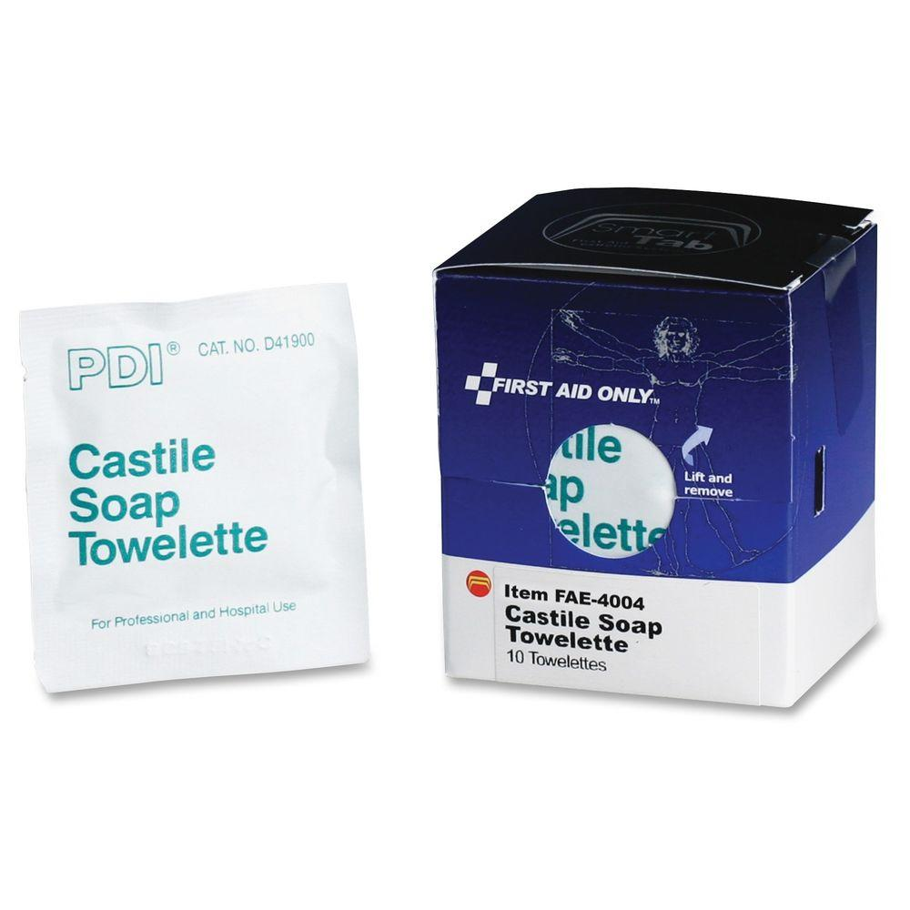 Castile Soap Towelettes - 10/Box