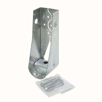 HDU 8-11/16 in. Galvanized Predeflected Holdown with Strong-Drive® SDS Screws