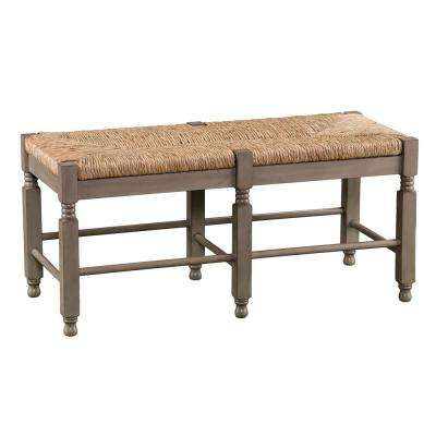 Lorena Seagrass Bench/Cocktail Table