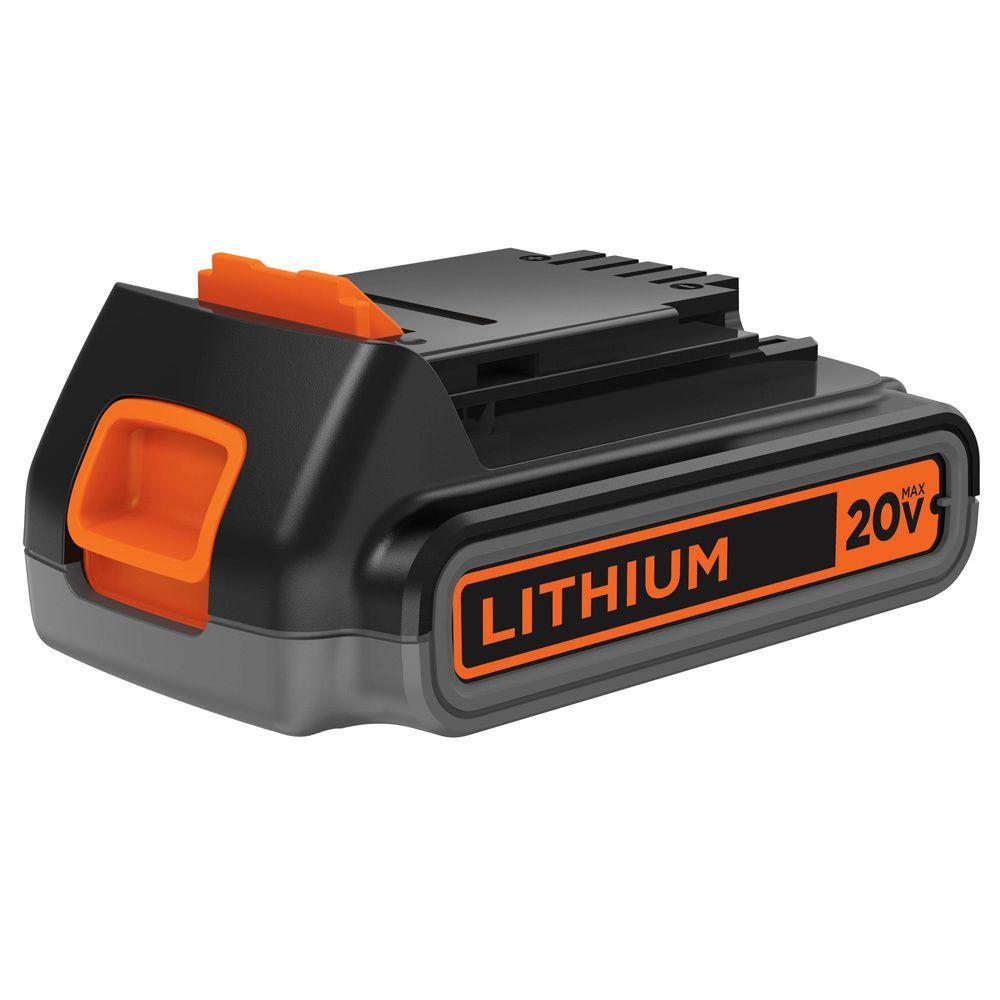 BLACK+DECKER 20-Volt MAX Lithium-Ion Battery Pack 2.0Ah