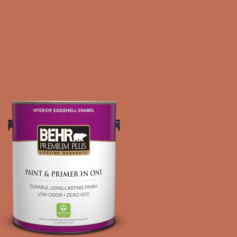 1 gal. #M190-6 Before Winter Eggshell Enamel Zero VOC Interior Paint
