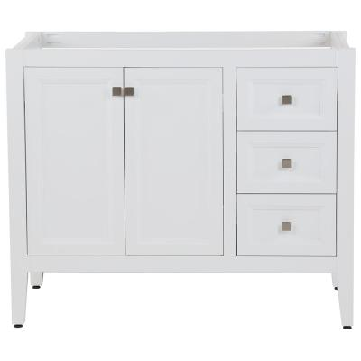 Darcy 42 in. W x 22 in. D Bath Vanity Cabinet Only in White