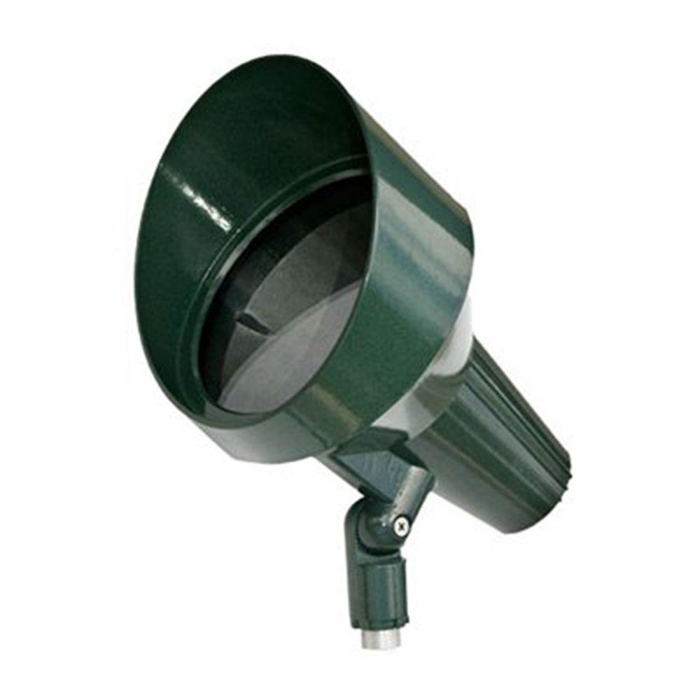 Skive 1-Light Green Outdoor Directional Spotlight