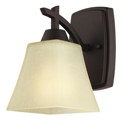Midori 1-Light Oil Rubbed Bronze Wall Mount Sconce
