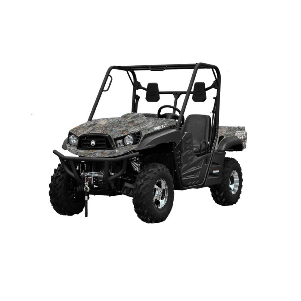 Side By Side Utv >> Coleman 500cc Utv 4x4 Side By Side Ut500 The Home Depot