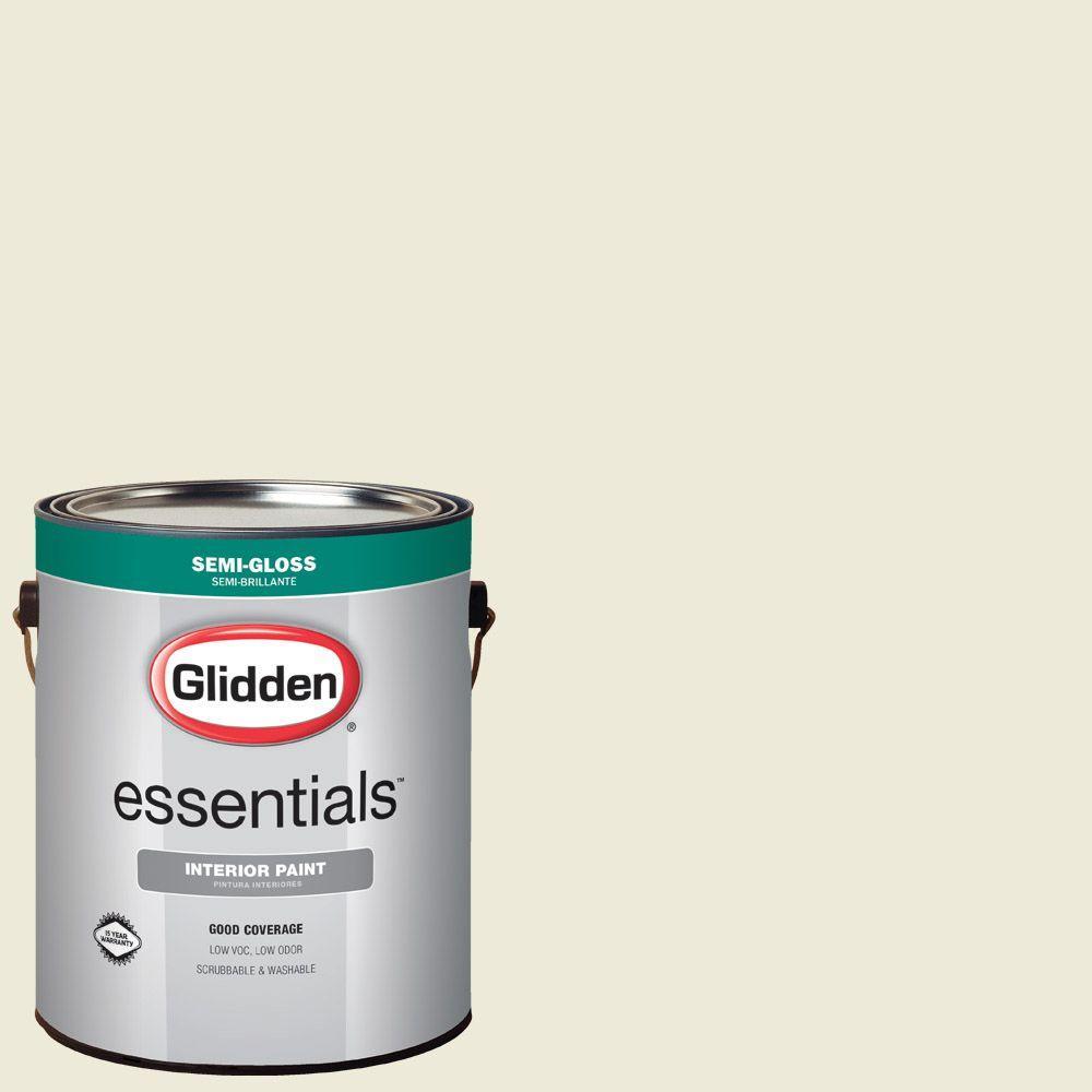 1 gal. #HDGG30D Morning Daylight Semi-Gloss Interior Paint