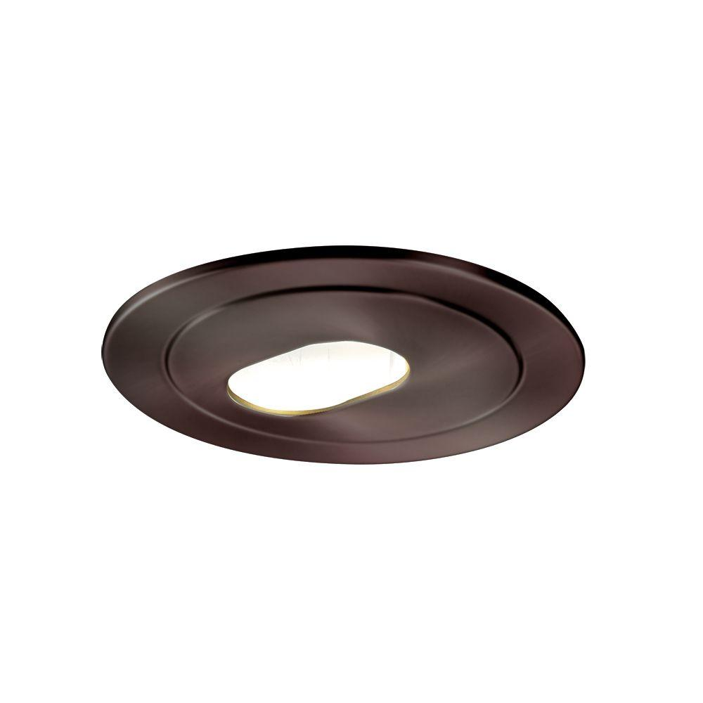 Halo low voltage 4 in tuscan bronze recessed ceiling light trim halo low voltage 4 in tuscan bronze recessed ceiling light trim with adjustable slot aperture 1420tbz the home depot aloadofball