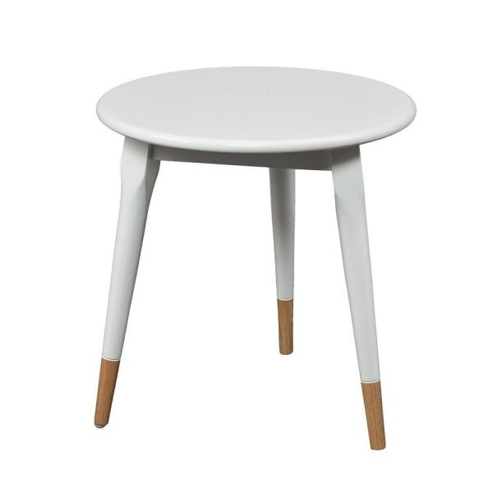 Southern Enterprises Otsego White End Table HD889436