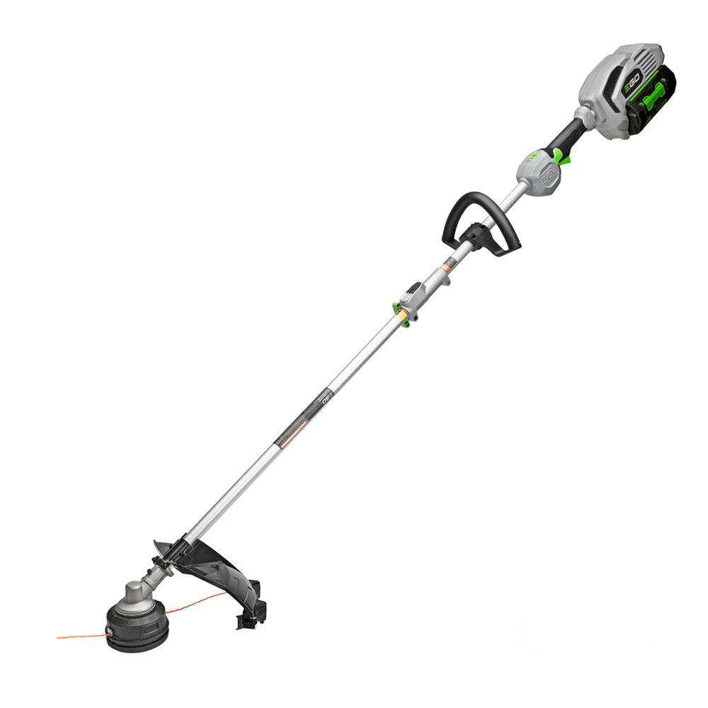 EGO POWER+ 15 in. 56-Volt Lithium ion Cordless String Trimmer w/5.0Ah Battery and Charger for EGO Multi-Head System