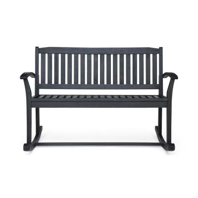 Fantastic Bradley Maple Jumbo Slat Wood Outdoor Patio Rocking Chair Ocoug Best Dining Table And Chair Ideas Images Ocougorg