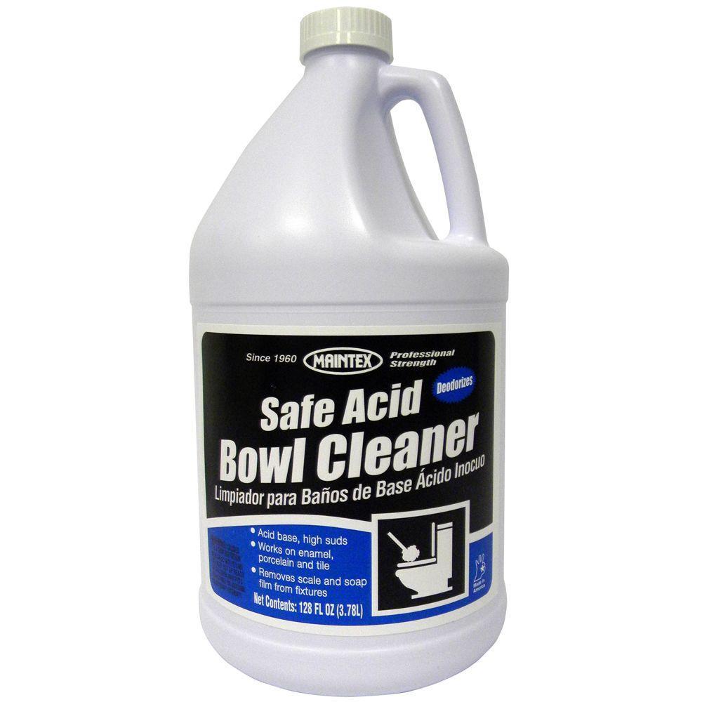 Maintex 1 gal. Safe Acid Bowl Cleaner (Case of 4)-DISCONTINUED