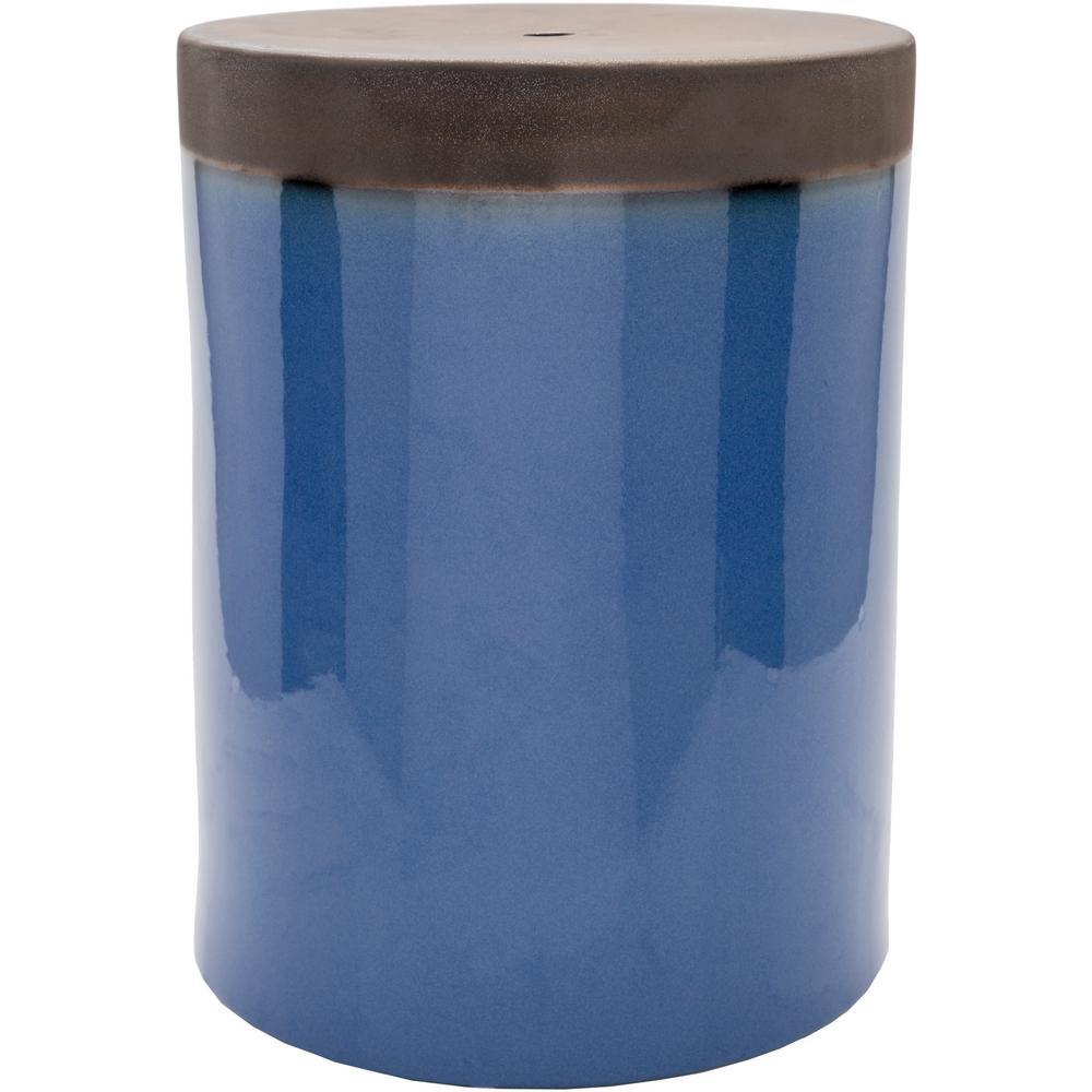 Mountabatten Dark Blue Stool