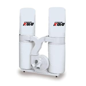 Kufo Seco 5HP 3,900 CFM 3-Phase 220-Volt / 440-Volt Vertical Bag Dust Collector (Prewired 220-Volt) by Kufo Seco