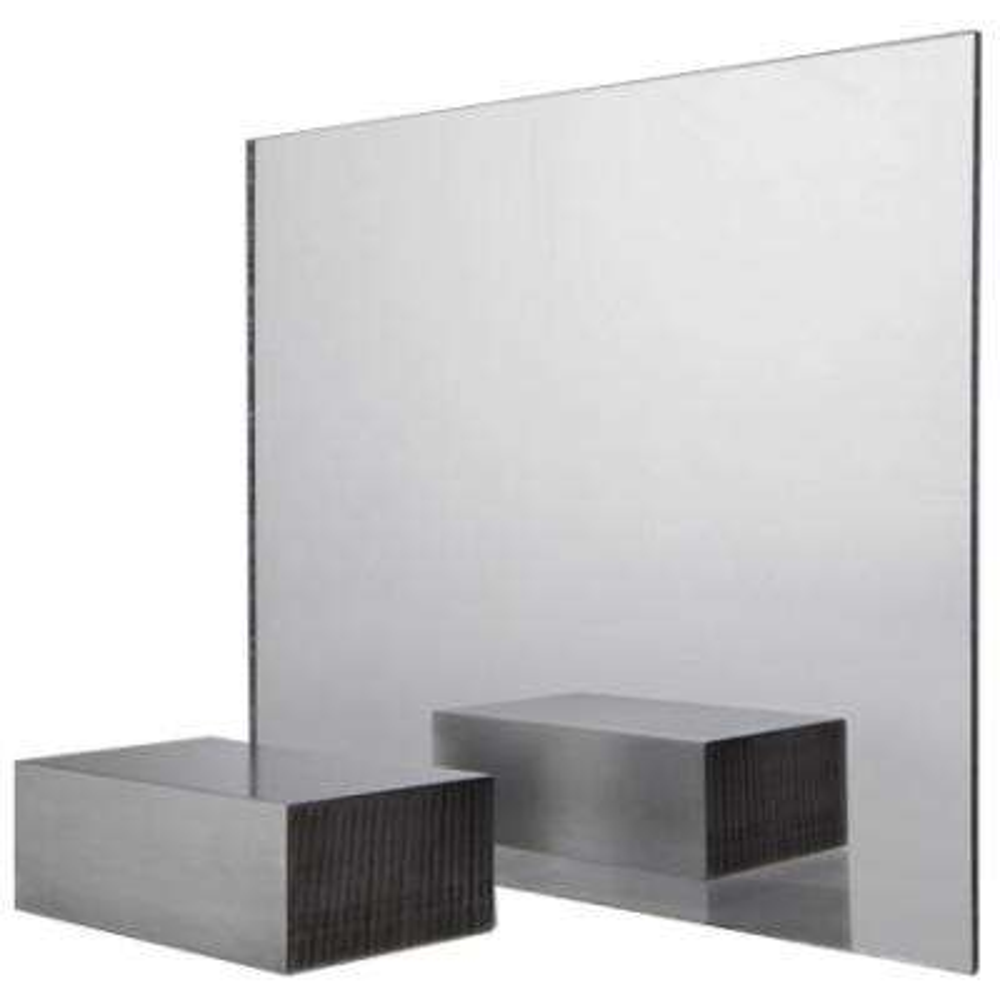 36 in. x 36 in. x .118 in. Acrylic Mirror