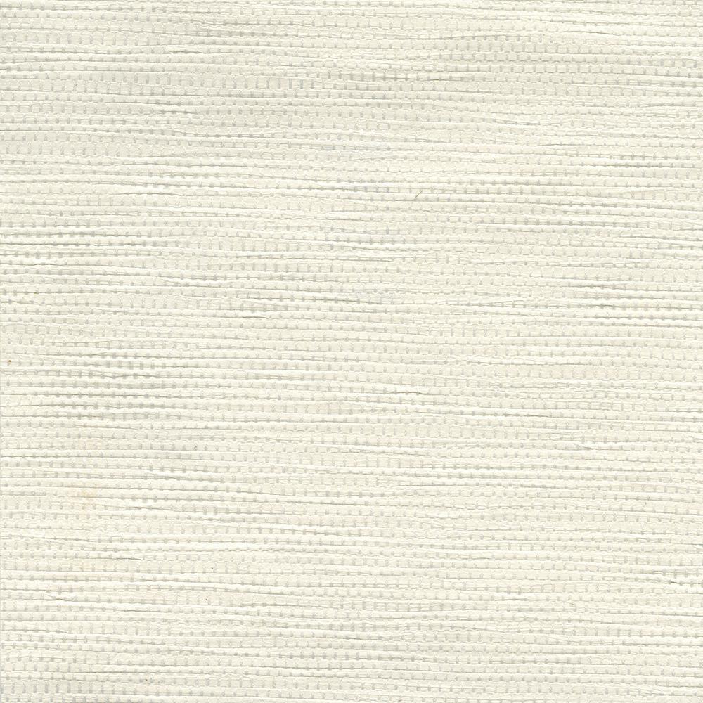 8 in. x 10 in. Henan White Paper Weave Wallpaper Sample