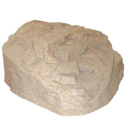 29 in. L x 30-1/2 in. W x 13-1/2 in. H Resin Boulder Rock