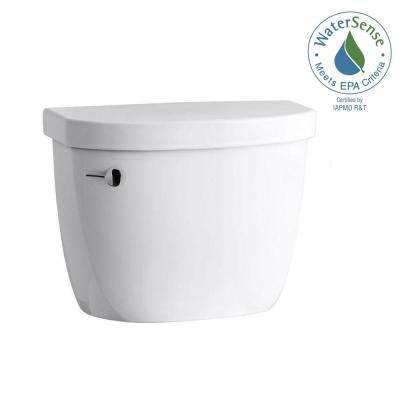 Cimarron 1.28 GPF Single Flush Toilet Tank Only with AquaPiston Flushing Technology in White