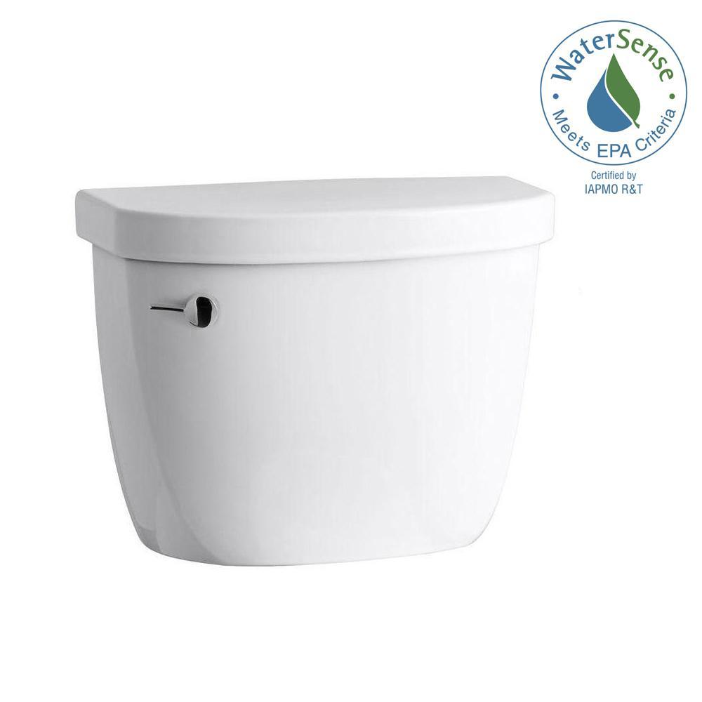 Cimarron 1.28 GPF Single Flush Toilet Tank Only with AquaPiston Flushing Technology in White