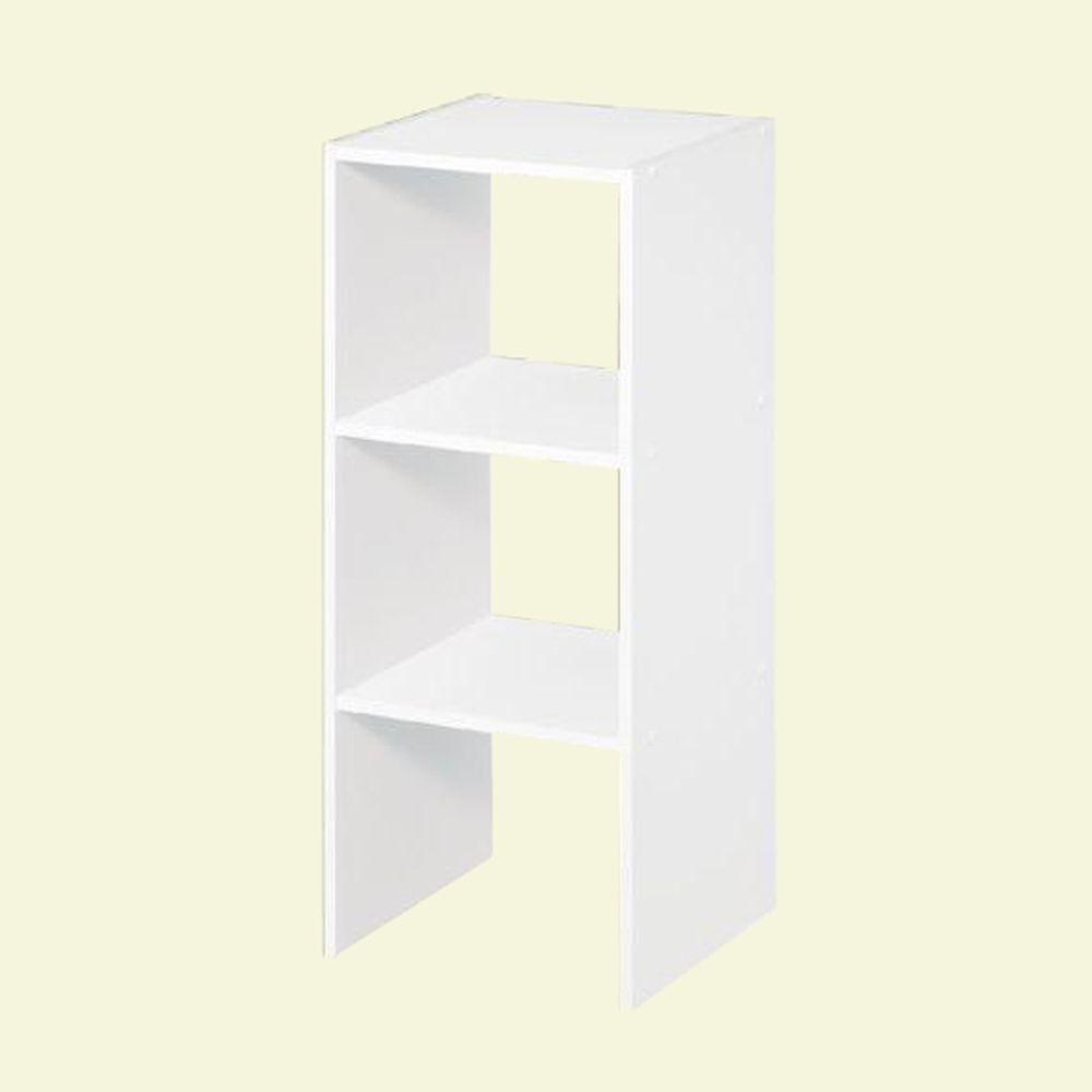White Stackable Storage Organizer