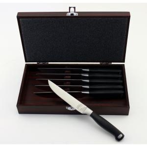 Click here to buy BergHOFF Bistro Steak Knife with Case (6-Pack) by BergHOFF.