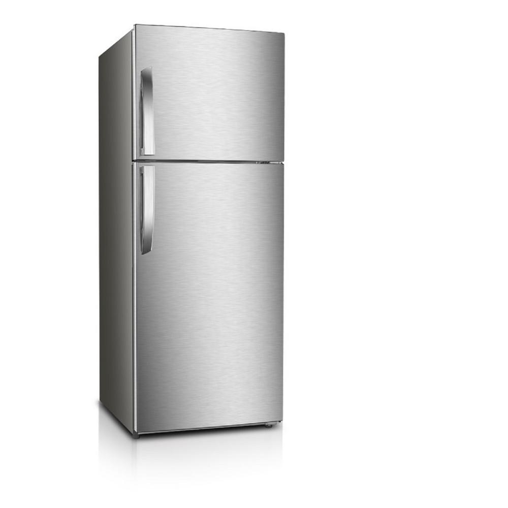 PREMIUM 7.1 cu. ft. Frost Free Top Freezer Refrigerator in Stainless Steel