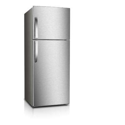7.1 cu. ft. Frost Free Top Freezer Refrigerator in Stainless Steel Look