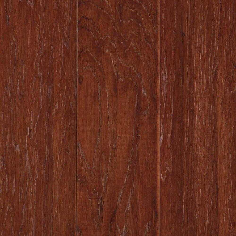 Mohawk Harper Hickory Autumn 3/8 in. Thick x 5 in. Wide x Random Length Engineered Hardwood Flooring (28.25 sq. ft. / case)