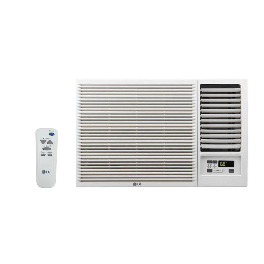 LG Electronics 18,000 BTU 230/208-Volt Window Air Conditioner with Cool, Heat