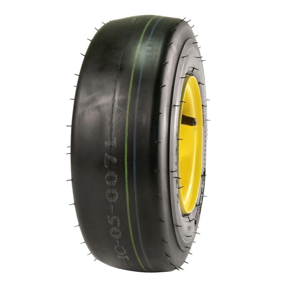 K404LG Smooth Tread 11X4.00-5 4-Ply Tire