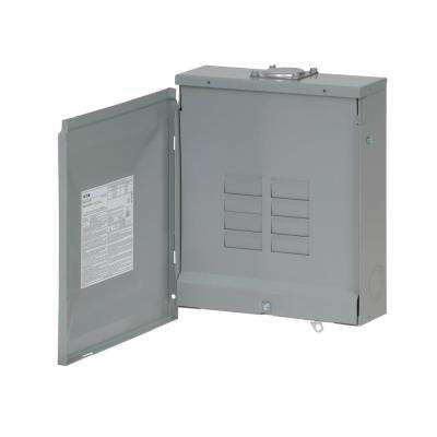 BR 125 Amp 6-Space 12-Circuit Outdoor Main Lug Loadcenter with Cover