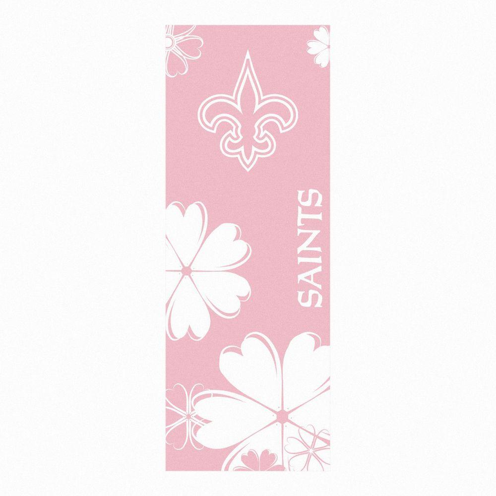 FANMATS New Orleans Saints 24 in. x 67.5 in. Yoga Mat-DISCONTINUED