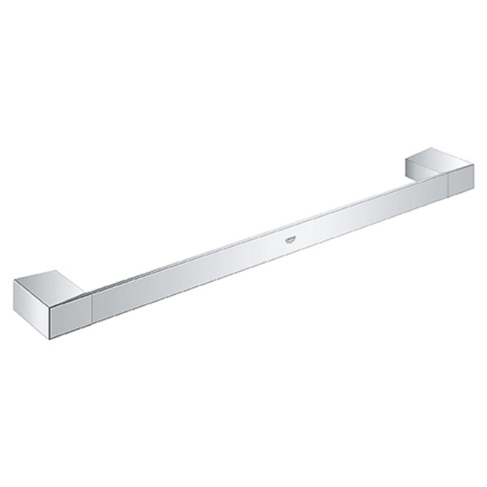Selection Cube 18 in. Towel Bar in StarLight Chrome