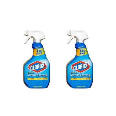 Clean-Up 32 oz. Fresh Scent All-Purpose Cleaner with Bleach Spray (2-Pack)