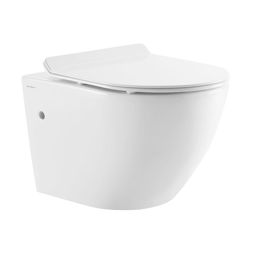 Swiss Madison St Tropez Wall Hung Toilet Bowl 0 8 1 28
