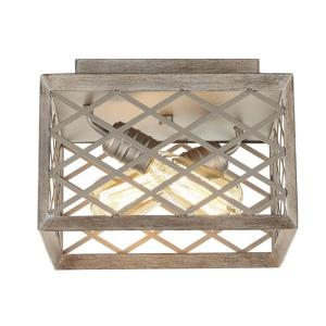 Home Decorators Collection 11 In 2 Light Gilded Pewter
