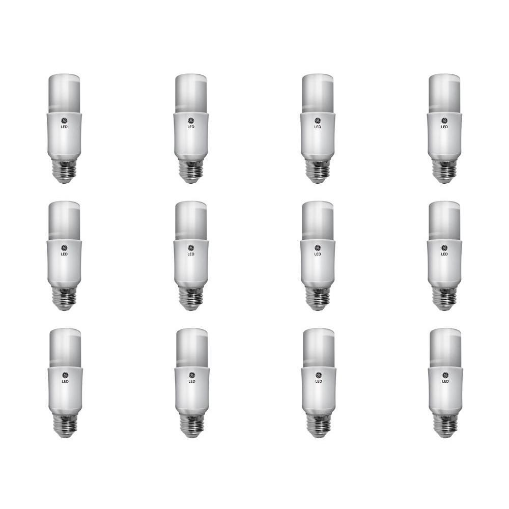 GE 60W Equivalent Soft White A19 General Purpose LED Bright Stik ...