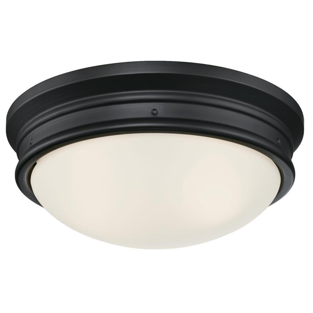 Black Flush Mount Light