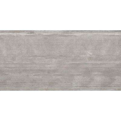Hangar Smoke Matte 11.69 in. x 23.46 in. Porcelain Floor and Wall Tile (11.43 sq. ft. / case)