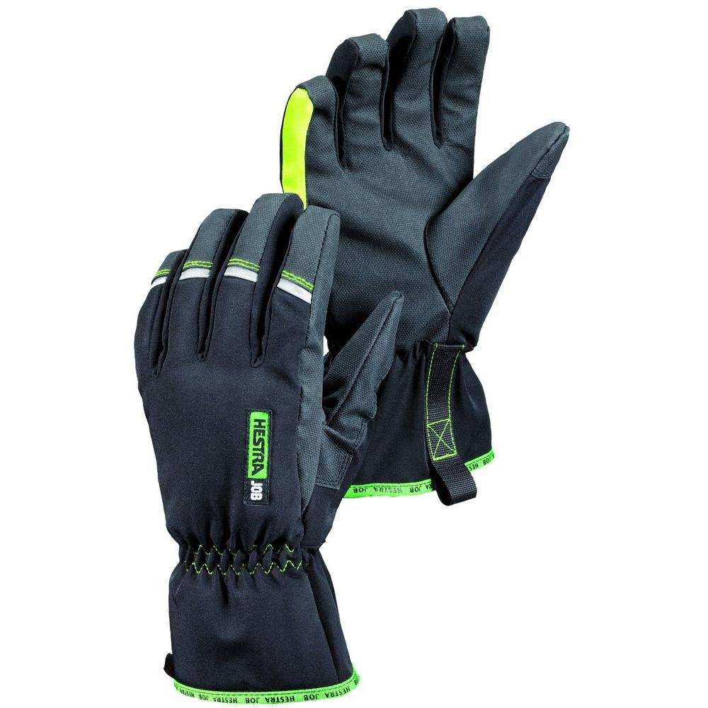 Hestra JOB Fermium Czone Size 10 X-Large Cold Weather Glove in Black-DISCONTINUED