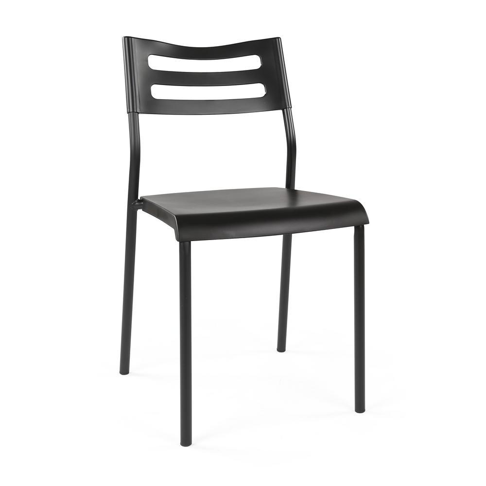Industrial Black/Black Desk Writing Chair