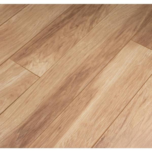 Shefton Hickory 12mm Thick x 6.1 in. Wide x 47.64 in. Length Laminate Flooring (14.13 sq. ft. / case)
