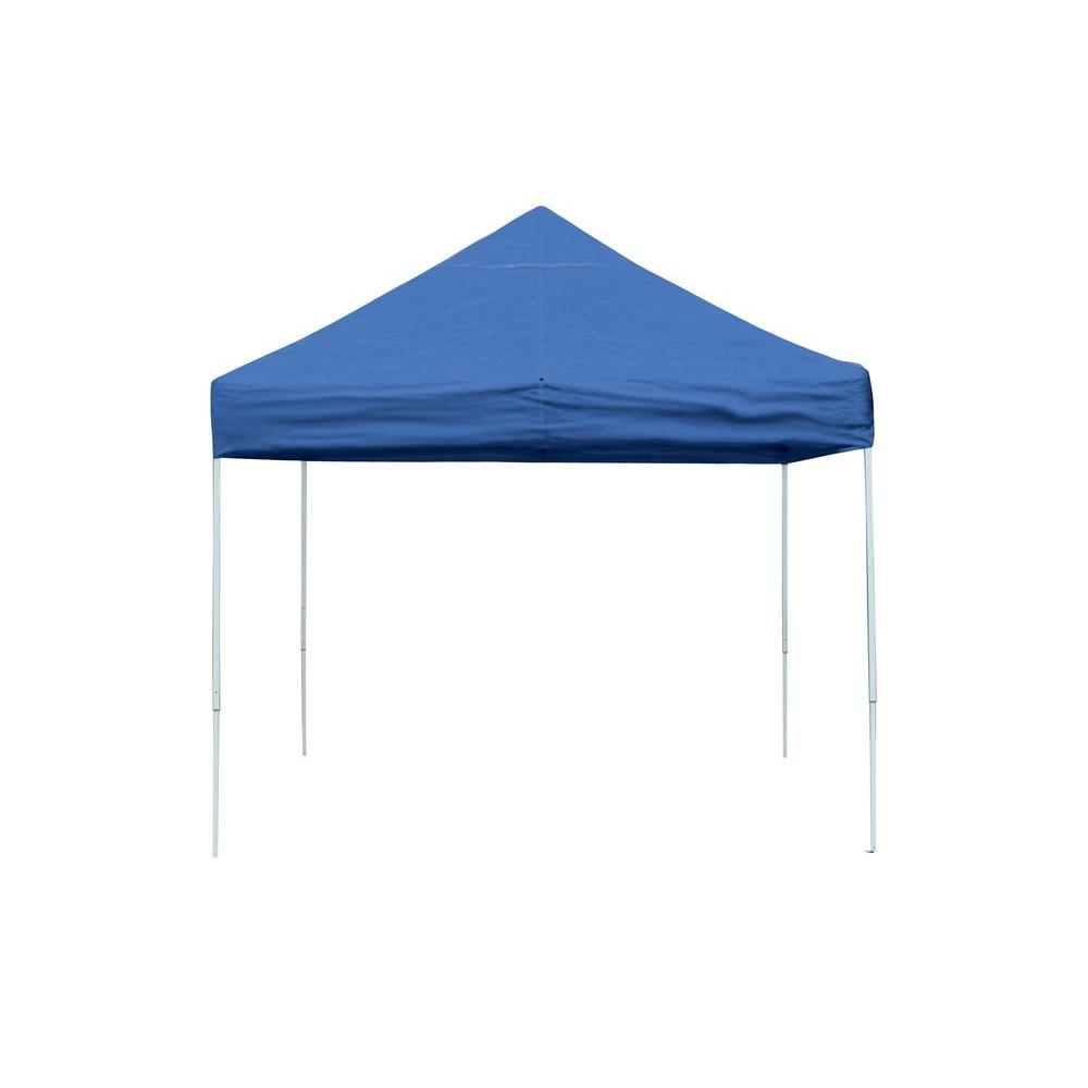 ShelterLogic Pro Series 10 ft. x 10 ft. White Straight Leg Pop-Up Canopy-22586 - The Home Depot  sc 1 st  Home Depot : 10 x 10 pop up canopy - memphite.com