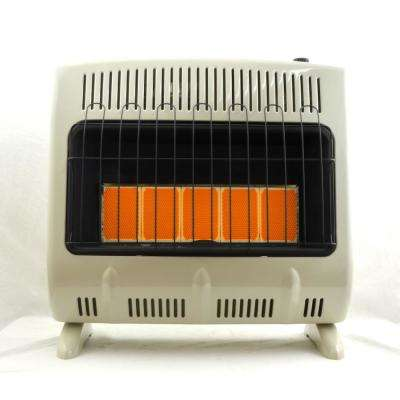 30,000 BTU Vent Free Radiant Natural Gas Heater