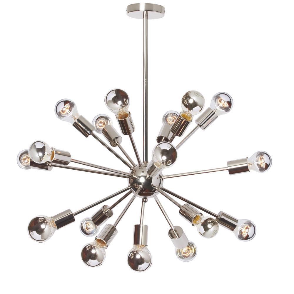 Filament design 18 light polished chrome chandelier cli dn218221 filament design 18 light polished chrome chandelier aloadofball Gallery