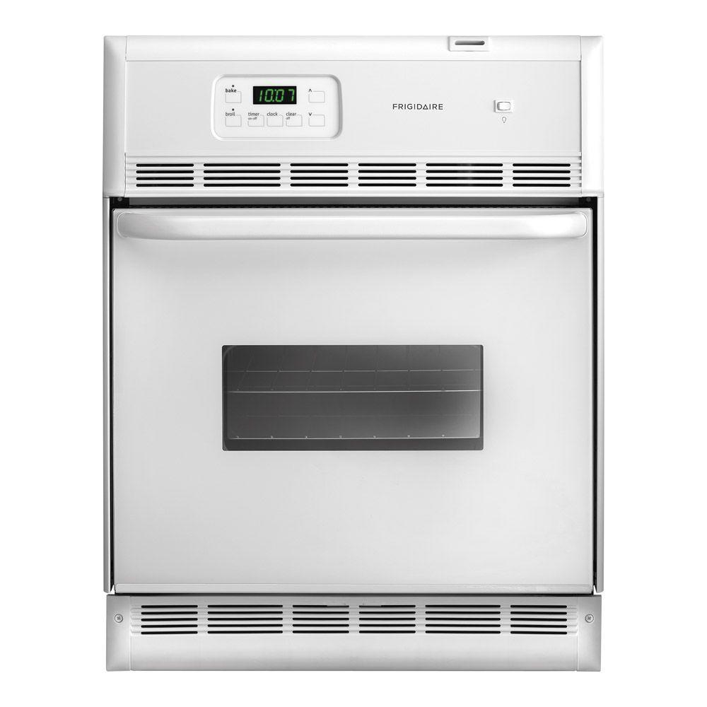 Frigidaire 24 in. Single Electric Wall Oven in White