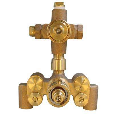 Single-Control Thermostatic Mixing Shower Valve