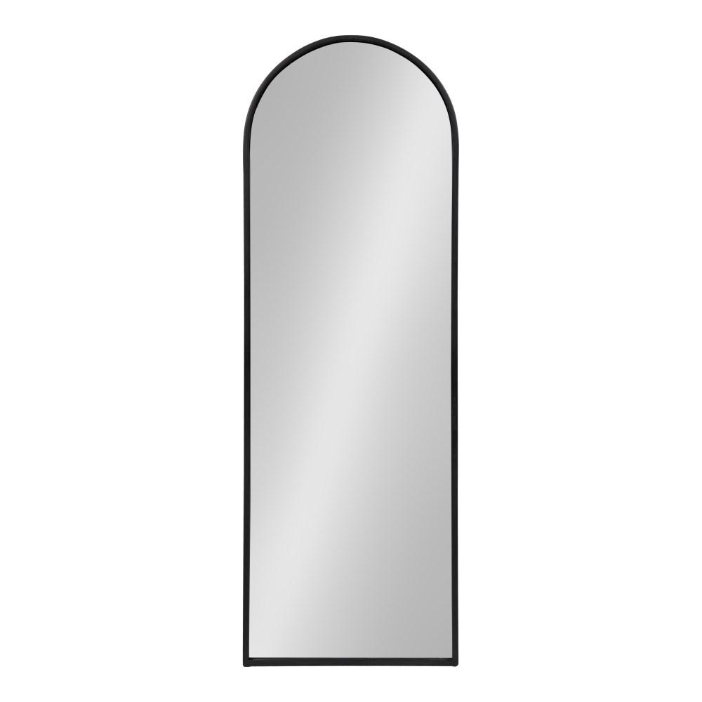 Kate And Laurel Valenti Arch Black Wall Mirror 214475