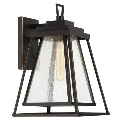 Sleepy Hollow 1-Light Outdoor Dakota Bronze Large Sconce Light