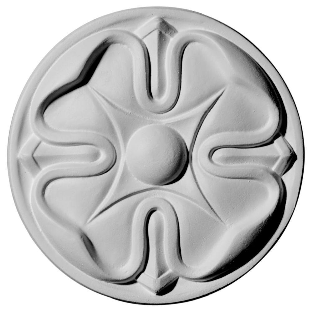 Ekena Millwork 5 in. x 3/4 in. x 5 in. Flower Rosette